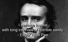 edgar allan poe, quotes, sayings, meaningful, about himself