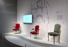 exposition 18e aux sources du design chateau de Versailles