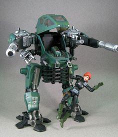 gi joe sigma 6 vehicles   JoeCustoms.com > Vehicles > G.I. Joe > Iron Strike Mecha