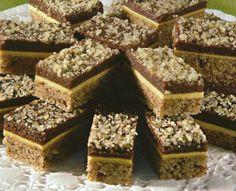 Kocke s orasima - Recepti za kolače Torte Recepti, Kolaci I Torte, No Bake Desserts, Dessert Recipes, Baking Recipes, Cookie Recipes, Croation Recipes, Bosnian Recipes, Torte Cake