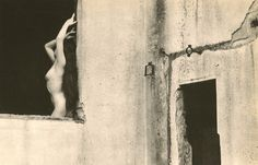 Nude on Window. 1950s. by Yasuhiro Ishimoto
