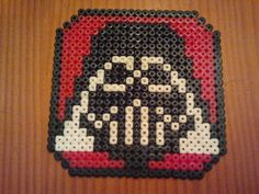 Darth Vader coaster hama beads by Vanju Legita