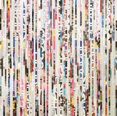 "Saatchi Art Artist Tehos Frederic CAMILLERI; Collage, ""Tehos - Color Fields 02"" #art"