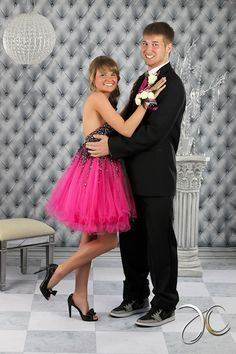 Chelsey -Pink Prom Dress