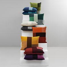 Normann Copenhagen - Brick Cushion - 50x60cm - Turquoise