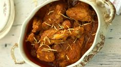 The Jardaloo Ma Marghi from Rustom's Parsi Bhonu include apricots, which add sweetnees to the mildly-spiced gravy.