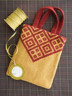 Ravelry: Harvest Market Bag pattern by Mari Tobita