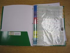 KindergartenWorks: creating a writer's workshop folder in kindergarten