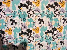 Wladyslaw Strzeminski, textile designs, probably late 1940s