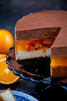 Easy Giant Jaffa Cake Recipe
