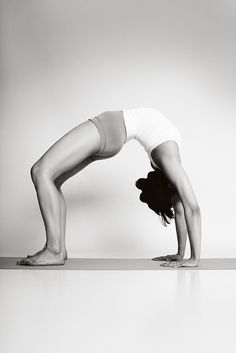 urdhva dhanurasana. (upward bow)