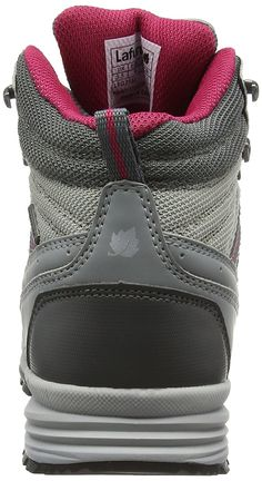 Lafuma LD Arica - UK Women Sizes : 6.5, Couleurs Lafuma : Mercury Grey Wild Rose ** You can get more details by clicking on the image. (This is an affiliate link) #HikingShoes