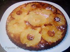 j'ai trouvé cette excellente recette simple et vite prête chez Lilly ! Ingrédients : 150 gr de farine 100 gr de beurre mou 100 gr de sucre 4 œufs 5 cl de Rhum 1 grande boîte d'ananas en tranches Préparation : Egoutter l'ananas et récupérer le jus. Au...