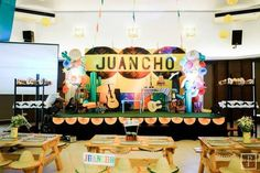 Juancho's Mexican Fiesta Themed party – Stage