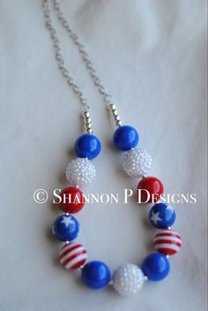 Adult and kid size 4th of July chunky by ShannonPsencikDesign