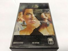 STYX tape cassette PIECES OF EIGHT album 1978 A & M records