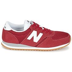 adcac37c9e41ae New Balance U420 Red   White New Balance Shoes