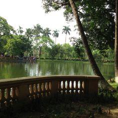 Presidential palace grounds. Hanoi, Vietnam