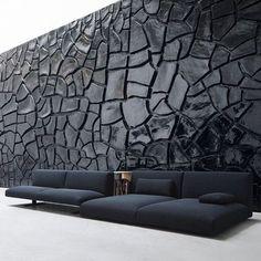 Awesome Modern Sofa Design Ideas You Never Seen 2 Interior Walls, Interior And Exterior, Interior Design, Lobby Interior, Dining Furniture, Furniture Design, Vintage Furniture, Dark Furniture, Leather Furniture