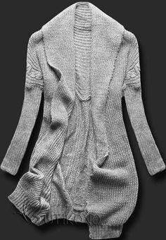 Sivý sveter SEN01