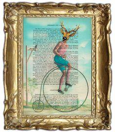 $12 Coco de Paris: vintage deer