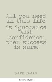 confidence and ignorance - Google Search