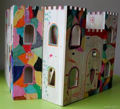 Child-decorated Play Castle