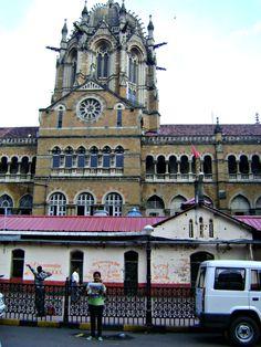 Chhatrapati Shivaji Terminus in Mumbai, Mahārāshtra previously called Victoria Terminus