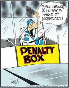 Hockey Hunks: Penalty Box