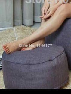 bean bag ottoman pouf ywxuege square round beanbag chair ottoman,footrest stool Beanbags Sofa Chair