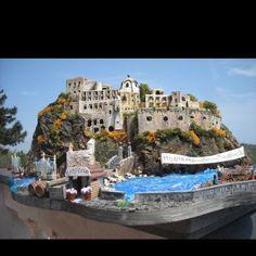 Castle Arganese, Ischia, Italy