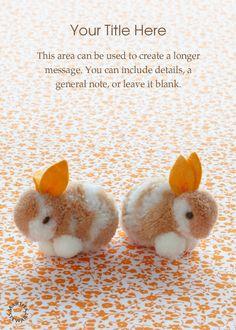 Cute Little Bunnies designed by Martha Stewart on Celebrations.com