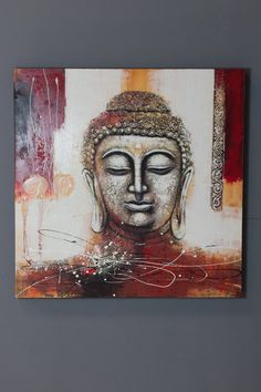 """""""When it is impossible for anger to arise within you, you find no outside enemies anywhere. An outside enemy exists only if there is anger inside. Buddha Artwork, Buddha Painting, 3d Painting, Namaste Art, Buddha Peace, Oil Painting Pictures, Exotic Art, Buddhist Art, Angel Art"""