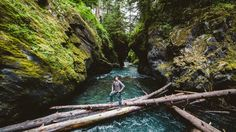 An Olympic National Park Adventure with Andrew Tomayko and Alex Diana  Music: Hermitude - HyperParadise (Flume Remix)