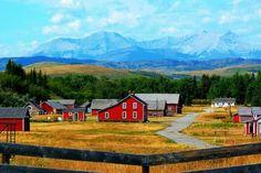 Bar U Ranch National Historic Site, Located Near Longview, Alberta, Canada