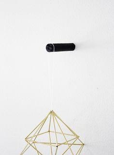 DIY minimal wall hook DIY by AMM blog