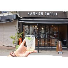#Nagoya  It's tiny very cute cafe for coffee stand:-) thanks for chat @kannoncoffee :-) http://ift.tt/20b7VYo