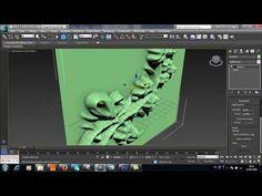 3ds max modeling: design patterns / displace - YouTube