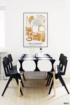 Marimekko Kivet fabric available at http://kiitosmarimekko.com/products/kivet-fabric-black-white