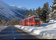 RailPictures.Net Photo: 3515 RHB- Rhätische Bahn Allegra at Morteratsch, Switzerland by John F Bromley