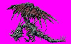 mendelpalace:  Zombie Dragon from Castlevania: Portrait of Ruin
