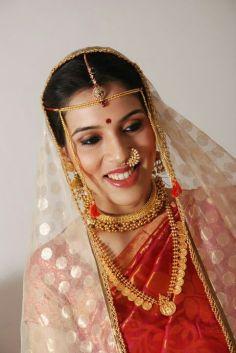 traditional marathi bride