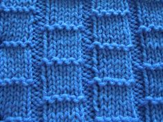 Knitting Stitch Patterns all using knit and purl stitches only!