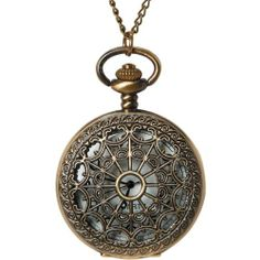 Pocket Watch 1/Pkg-Bronze Large Filigree Lid by Darice. $8.07. Brand New Item / Unopened Product. Darice. 082676175732. PWATCH-104. DARICE-Impressions: Pocket Watch. Pocket watches are classic accessories that invoke an instant sense of nostalgia. These gorgeous timepieces are authentic working watches that can be worn around the neck or tucked away into a pocket. Each one has a metal casing; measures approximately 2 inches; and comes on a 32-inch long chain ne...