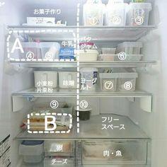 絶対マネしたい!!何がどこにあるかスグ分かる冷蔵庫収納術 | RoomClip mag | 暮らしとインテリアのwebマガジン