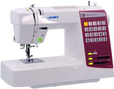 Juki HZL G 65 priced at AED: 1050. It is a compact computer-controlled household sewing machine which allows even inexperienced users to sew with ease. Improves upon previous models by widening the space between the arm and needle entry Includes 20 different sewing patterns, including the most common utility and decorative