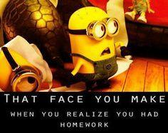 What homework ??