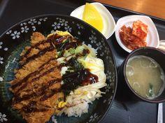 2015.1.4 점심. 가츠동