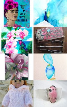 Pretty Finds! by Dr. Erika Muller on Etsy--Pinned with TreasuryPin.com