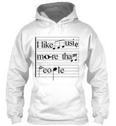 I like Music more than People!